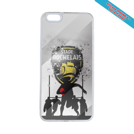 Coque silicone Galaxy J7 2017 Fan de Rugby Bayonne Géometrics