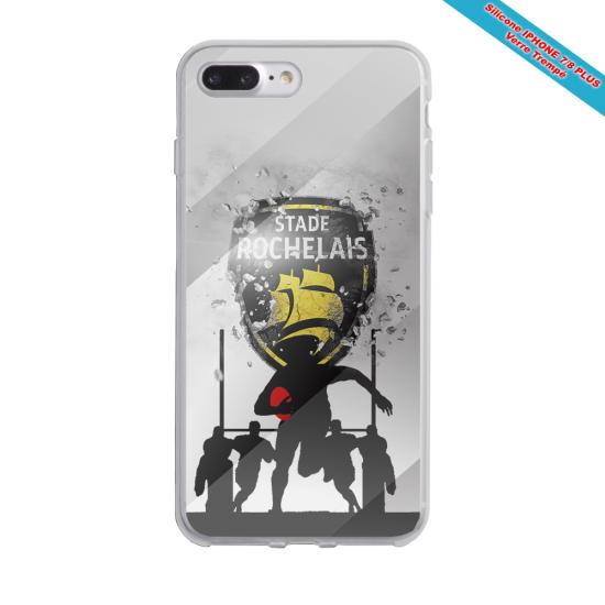 Coque silicone Galaxy M11 Fan de Rugby Bayonne Géometrics