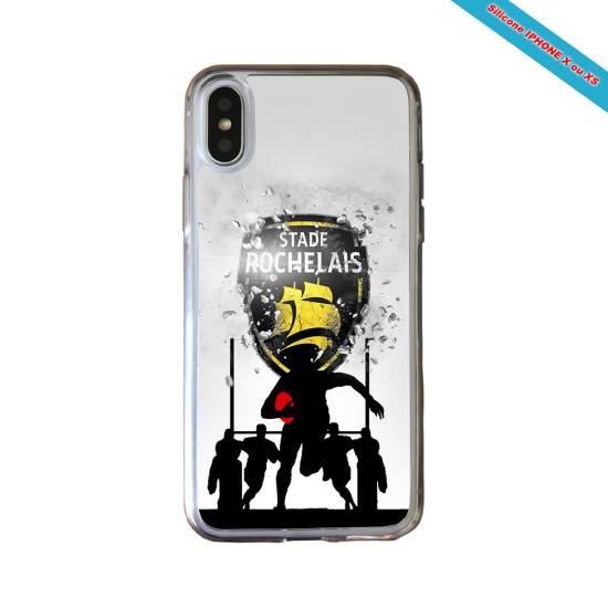 Coque silicone Galaxy M20 Fan de Rugby Bayonne Géometrics
