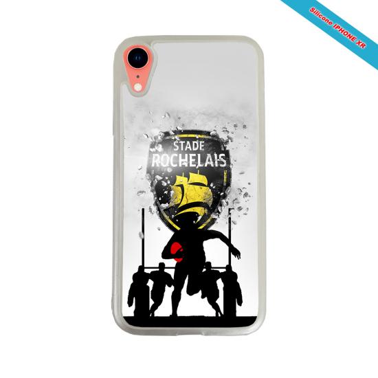 Coque Silicone Galaxy S6 Fan de Rugby Bayonne Géometrics