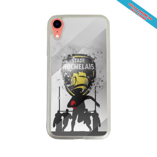 Coque Silicone Galaxy S6 EDGE Fan de Rugby Bayonne Géometrics
