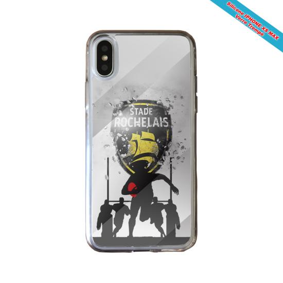 Coque Silicone Galaxy S7 EDGE Fan de Rugby Bayonne Géometrics