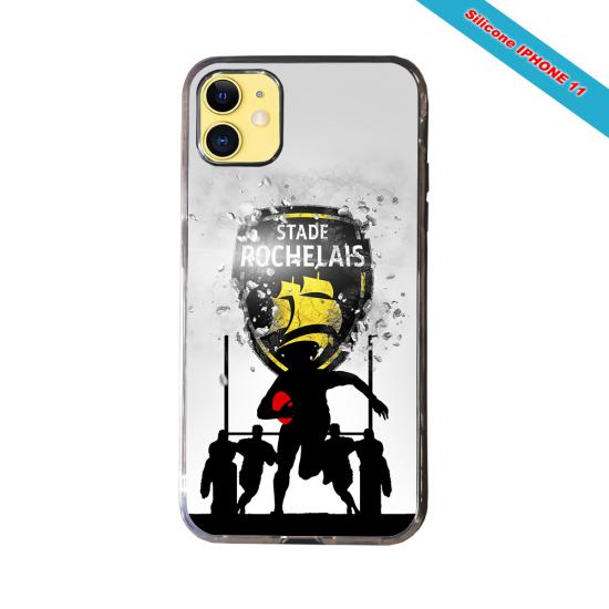 Coque Silicone Galaxy S8 Fan de Rugby Bayonne Géometrics