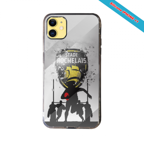 Coque Silicone Galaxy S8 PLUS Fan de Rugby Bayonne Géometrics
