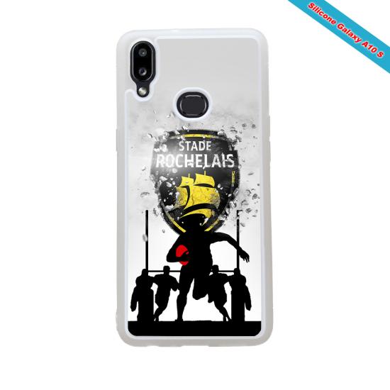 Coque silicone Galaxy S20FE Fan de Rugby Bayonne Géometrics