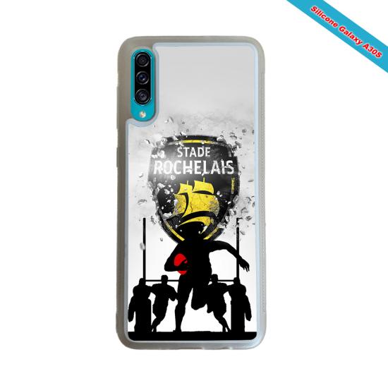 Coque silicone Galaxy S21 Fan de Rugby Bayonne Géometrics