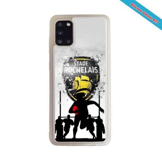 Coque silicone Galaxy S21 PLUS Fan de Rugby Bayonne Géometrics