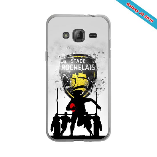 Coque silicone Huawei Mate 10 PRO Fan de Rugby Bayonne Géometrics