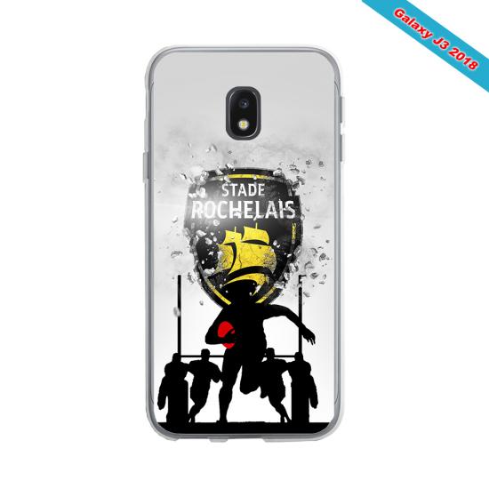 Coque silicone Huawei Mate 20 LITE Fan de Rugby Bayonne Géometrics