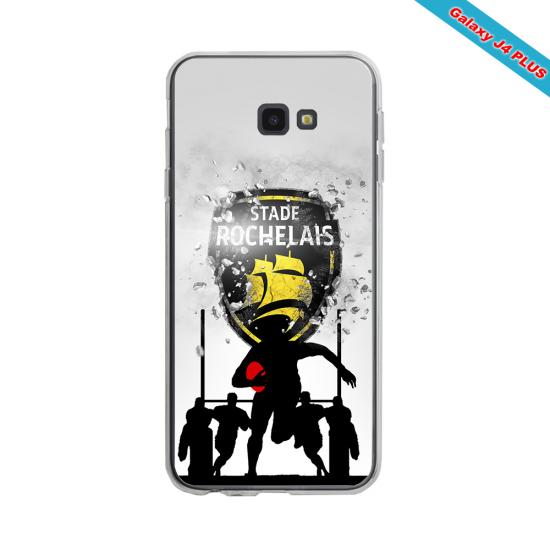 Coque silicone Huawei Mate 30 LITE Fan de Rugby Bayonne Géometrics