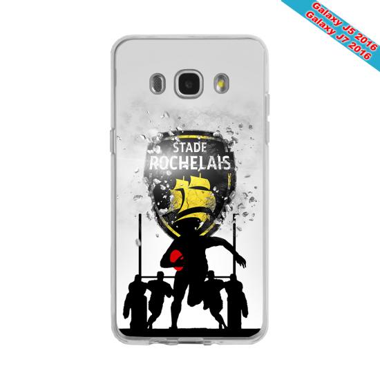 Coque silicone Huawei P9 Lite 2016 Fan de Rugby Bayonne Géometrics