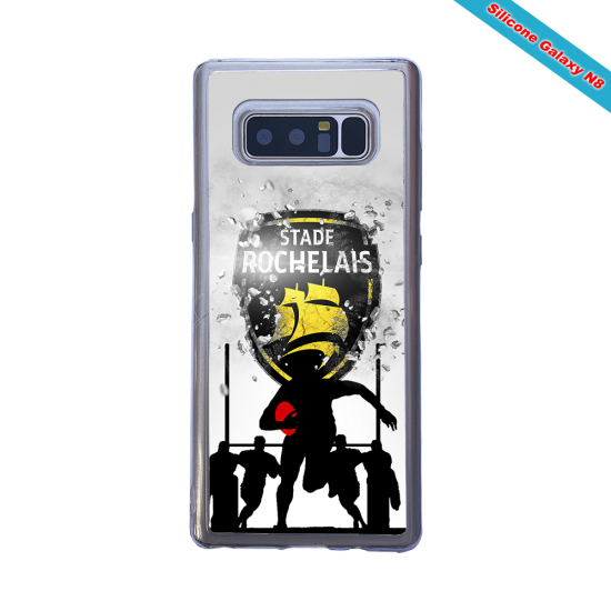 Coque silicone Iphone 11 Pro Max Fan de Rugby Bordeaux Géometrics