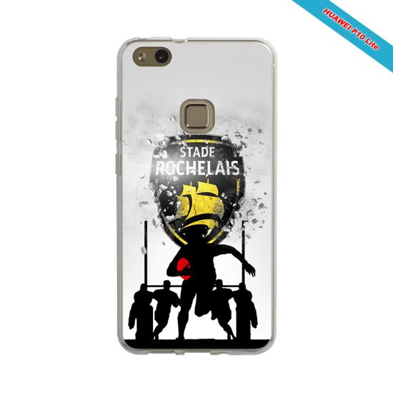Coque silicone Galaxy A50 Fan de Rugby Bordeaux Géometrics