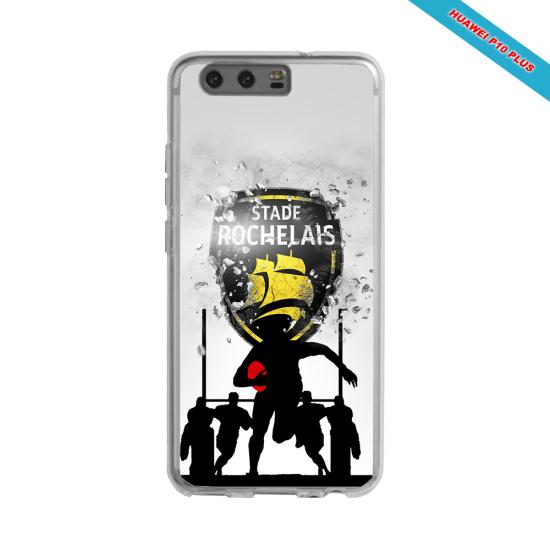 Coque silicone Galaxy A51 Fan de Rugby Bordeaux Géometrics