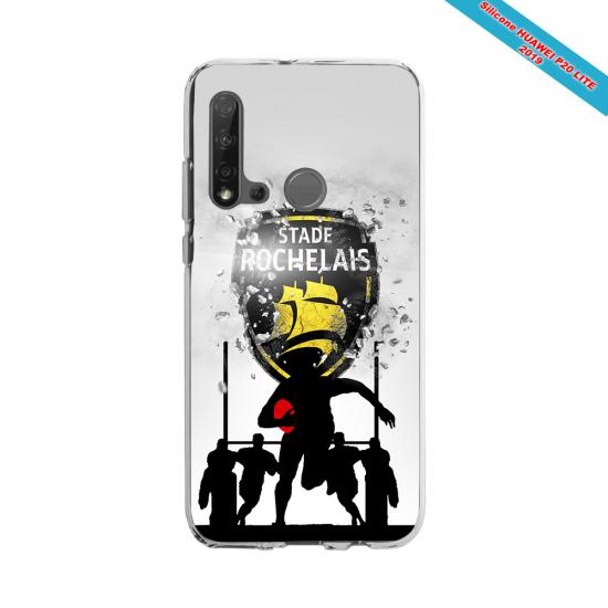 Coque silicone Galaxy J3 2016 Fan de Rugby Bordeaux Géometrics
