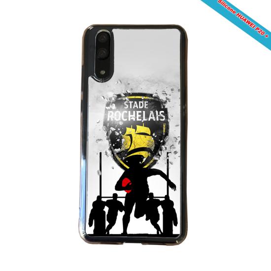Coque silicone Galaxy J3 2017 Fan de Rugby Bordeaux Géometrics