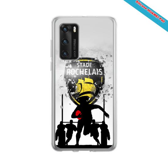 Coque silicone Galaxy J5 2016 Fan de Rugby Bordeaux Géometrics