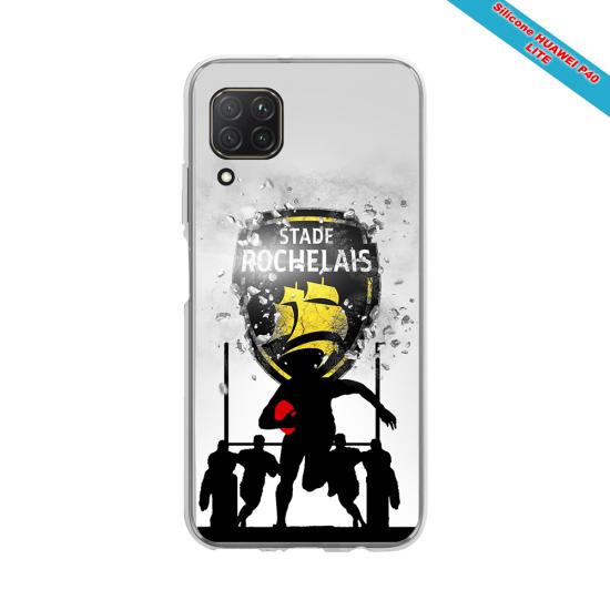 Coque silicone Galaxy J5 2017 Fan de Rugby Bordeaux Géometrics