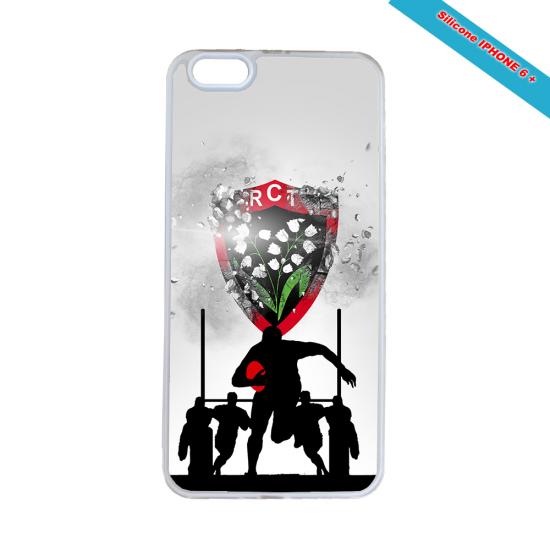 Coque silicone Galaxy M10 Fan de Rugby Bordeaux Géometrics