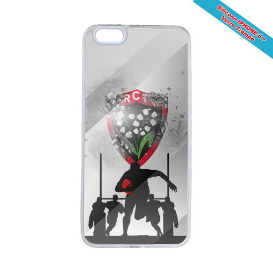 Coque silicone Galaxy M11 Fan de Rugby Bordeaux Géometrics