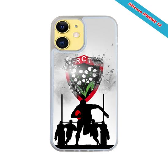 Coque silicone Galaxy S20FE Fan de Rugby Bordeaux Géometrics