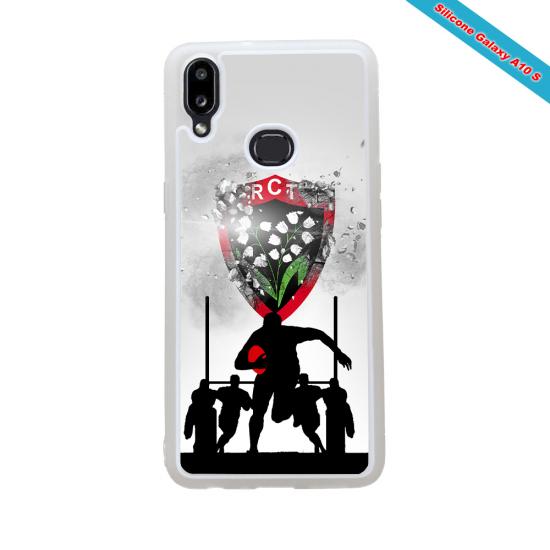Coque Silicone Galaxy S20 ULTRA Fan de Rugby Bordeaux Géometrics