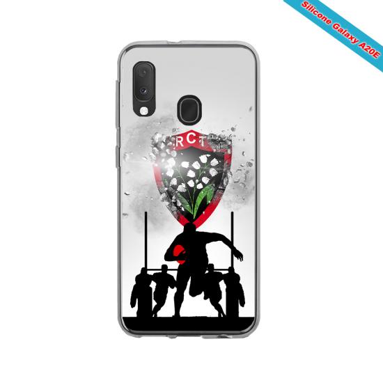 Coque silicone Galaxy S21 PLUS Fan de Rugby Bordeaux Géometrics