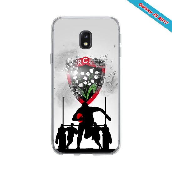 Coque silicone Huawei Mate 30 LITE Fan de Rugby Bordeaux Géometrics