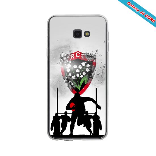 Coque silicone Huawei P8 lite 2017 Fan de Rugby Bordeaux Géometrics