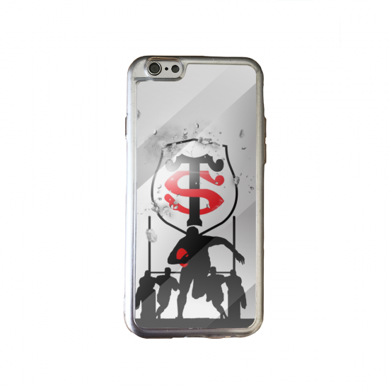 Coque silicone Galaxy M31 Fan de Rugby Brive Géometrics