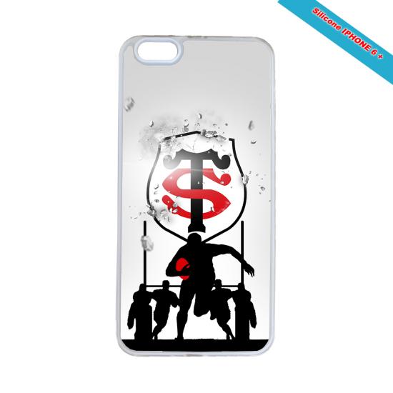 Coque Silicone Galaxy S6 Fan de Rugby Brive Géometrics