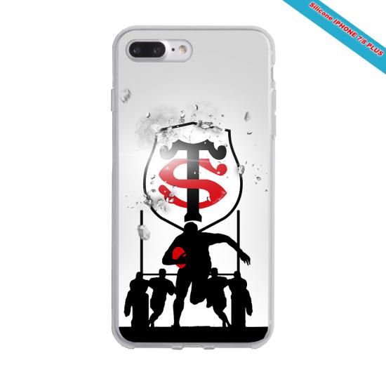 Coque Silicone Galaxy S8 Fan de Rugby Brive Géometrics
