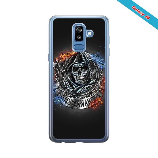 Coque silicone Iphone 11 Pro verre trempé Fan de Rugby Clermont Géometrics