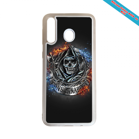 Coque silicone Iphone 12 Mini Fan de Rugby Clermont Géometrics