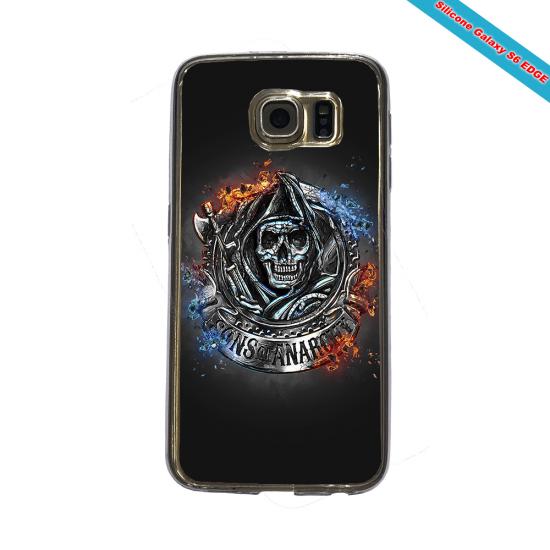 Coque silicone Iphone 12 PRO Fan de Rugby Clermont Géometrics