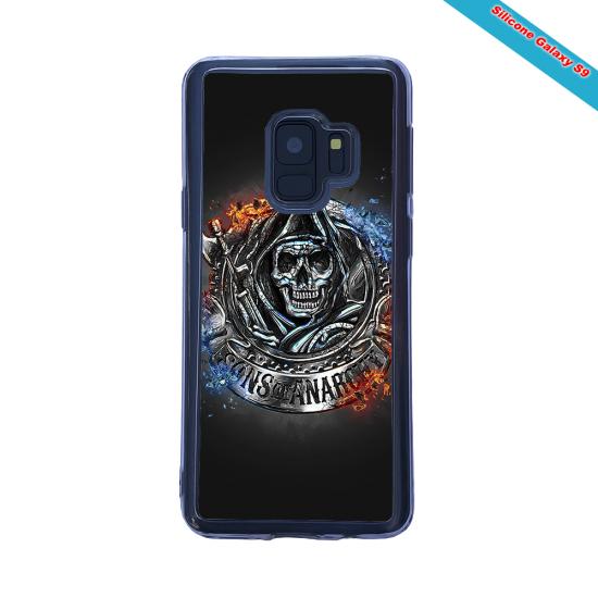 Coque silicone Galaxy A20-A30 Fan de Rugby Clermont Géometrics