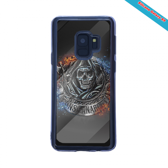 Coque silicone Galaxy A20E Fan de Rugby Clermont Géometrics
