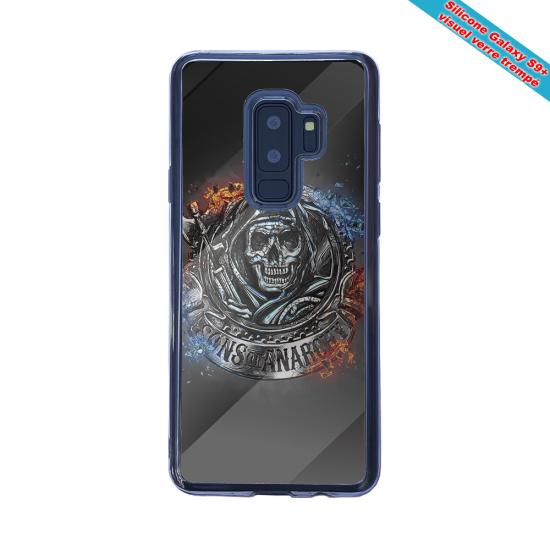Coque silicone Galaxy A21S Fan de Rugby Clermont Géometrics