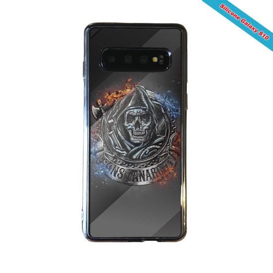 Coque silicone Galaxy A31 Fan de Rugby Clermont Géometrics