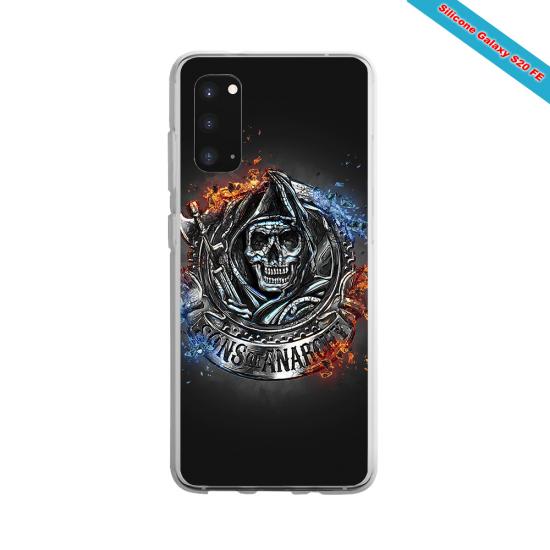 Coque silicone Galaxy A70 Fan de Rugby Clermont Géometrics