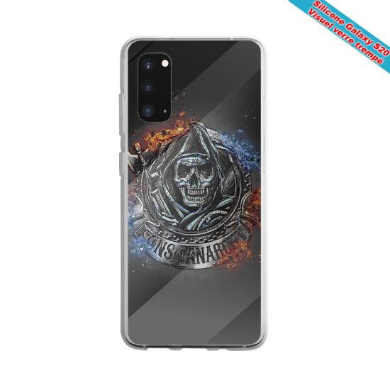 Coque silicone Galaxy A71 Fan de Rugby Clermont Géometrics