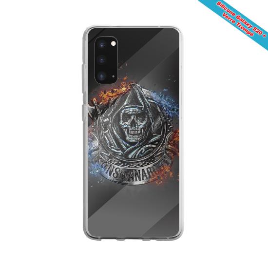 Coque silicone Galaxy J3 2017 Fan de Rugby Clermont Géometrics