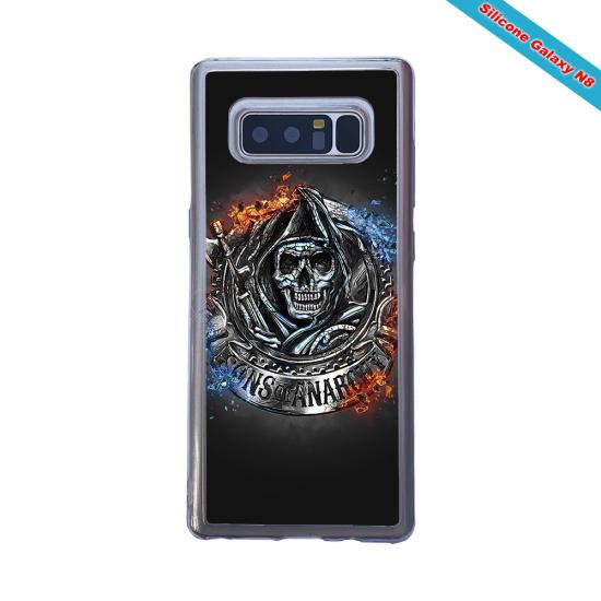 Coque silicone Galaxy J5 2017 Fan de Rugby Clermont Géometrics