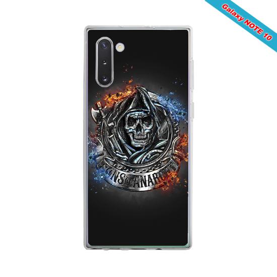 Coque silicone Galaxy J6 PLUS Fan de Rugby Clermont Géometrics