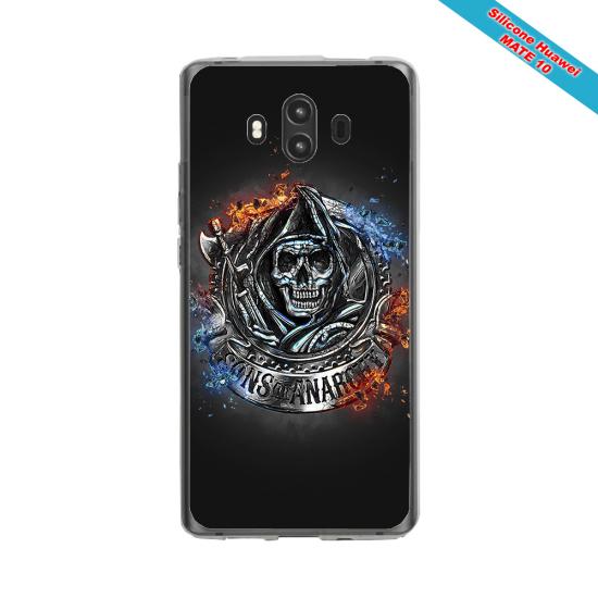 Coque silicone Galaxy J7 2016 Fan de Rugby Clermont Géometrics