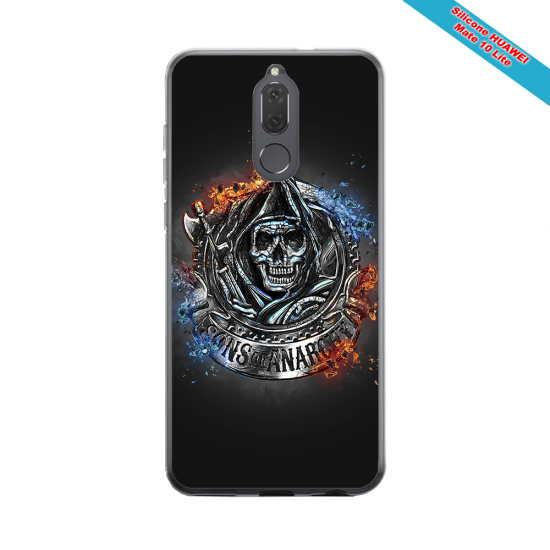 Coque silicone Galaxy J7 2017 Fan de Rugby Clermont Géometrics