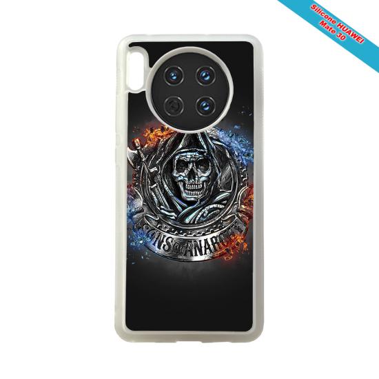 Coque silicone Galaxy M20 Fan de Rugby Clermont Géometrics
