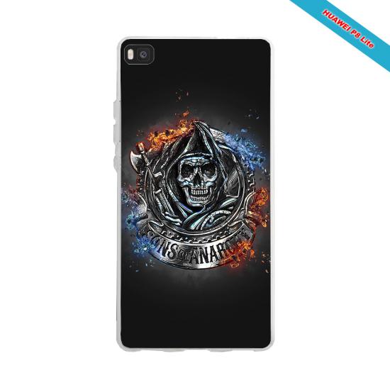 Coque Silicone Galaxy S6 EDGE Fan de Rugby Clermont Géometrics