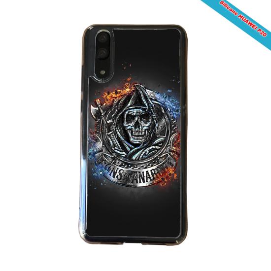 Coque Silicone Galaxy S9 PLUS Fan de Rugby Clermont Géometrics