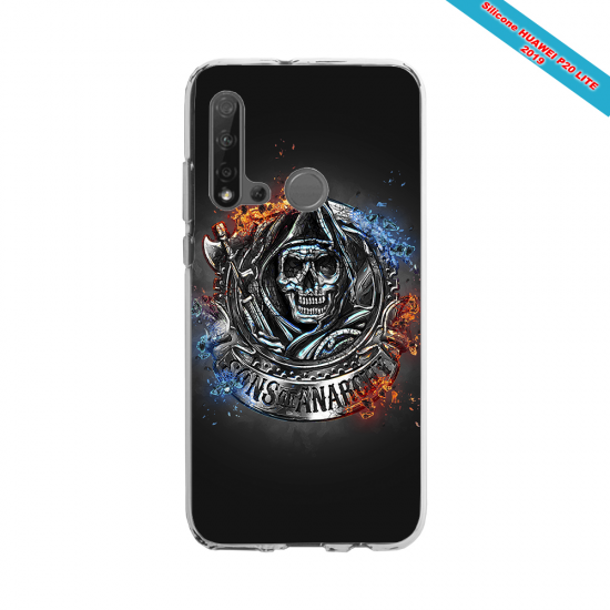 Coque Silicone Galaxy S10 Fan de Rugby Clermont Géometrics
